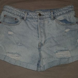 Cute distressed shorts